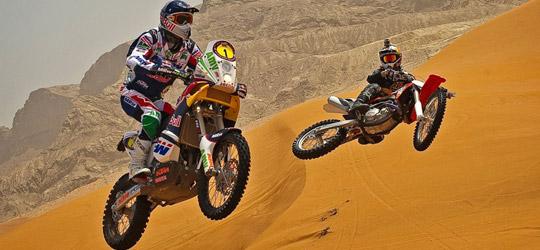 Wüstenshooting mit Marc Coma & Ronny Renner