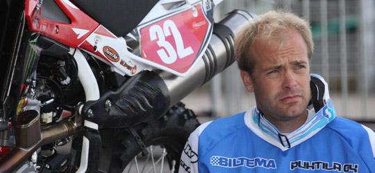 Juha Salminen, trotzt Ausfall zuversichtlich!