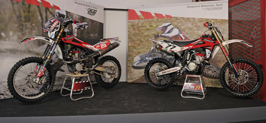 Husqvarna Factory Bike´s