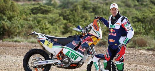 Mark Coma kann verletzungsbedingt an der Dakar 2013 nicht teilnehmen.