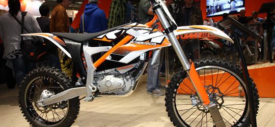 Neuigkeiten zur KTM Freeride E.