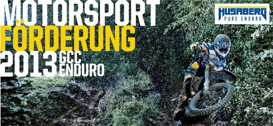 HUSABERG Motorsportförderung 2013