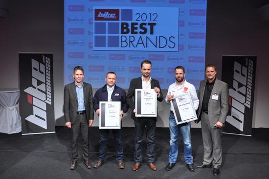 """Scorpion gewinnt """"Best Brands 2012"""" Titel."""