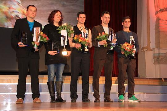 Die besten Endurosportler ( v.l. Marco Neubert, Heike Petrick, Otto Freund, Derrick Görner, Edward Hübner )