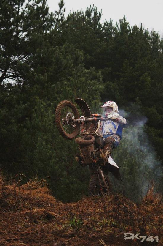 """Holger Dettmann beim Training für das Extreme Rennen """"The Tough one"""". (Foto: CK741)"""