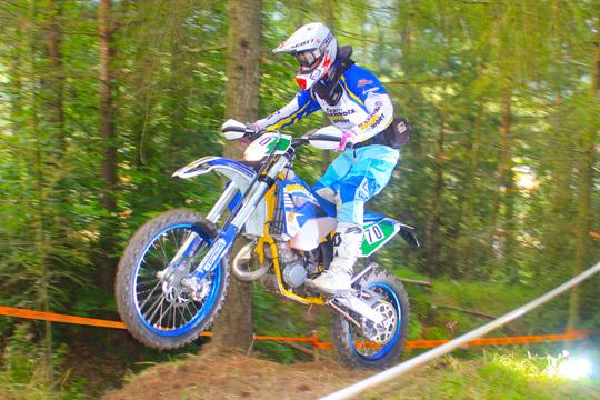 Lukas Reichstein, schnellster Enduro Pokal Fahrer 2012
