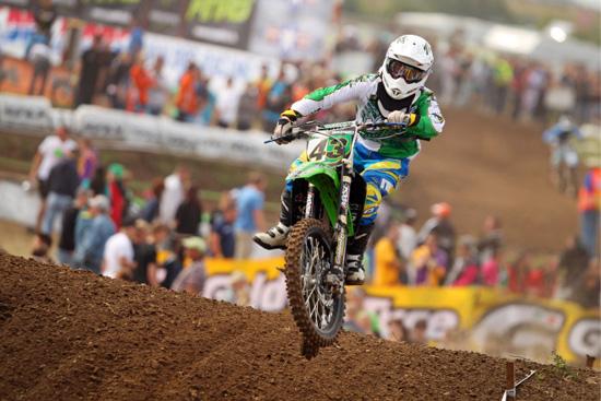 Der 2012er Gesamtsieger in der MX2Klasse: Danny Neubauer.