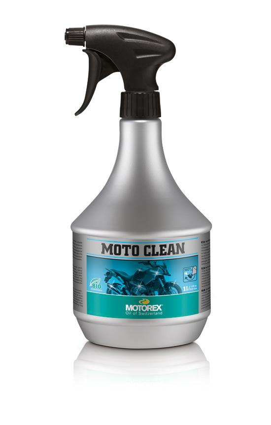 """MOTOREX """"MOTO CLEAN"""" ist für 15,95 Euro im Handel erhältlich."""