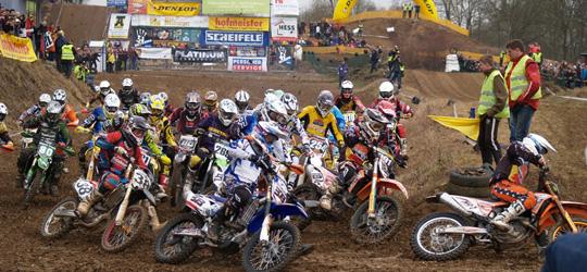 43. Winter-Motocross-Rennen in Frankenbach.