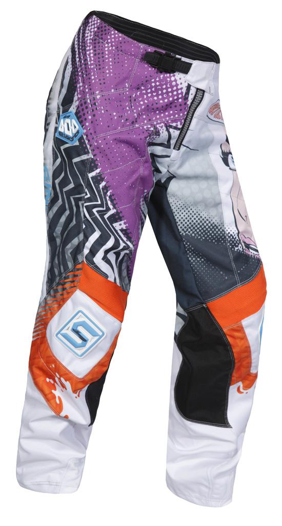 Die Ko-Mix Hose aus reißfestem Polyamid mit Verstärkungen an den Knien und am Gesäß.