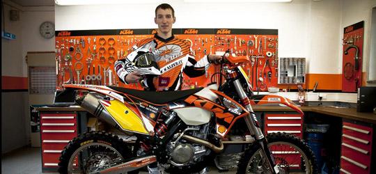 Benni Schöpf konnte mit 30 gefahrenen Runden den 7. Platz in der Klasse XC Pro erreichen.