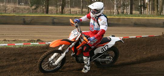 Der Champion des ADAC Enduro Cup 2012, Thomas Lapawa aus Schwarzheide.