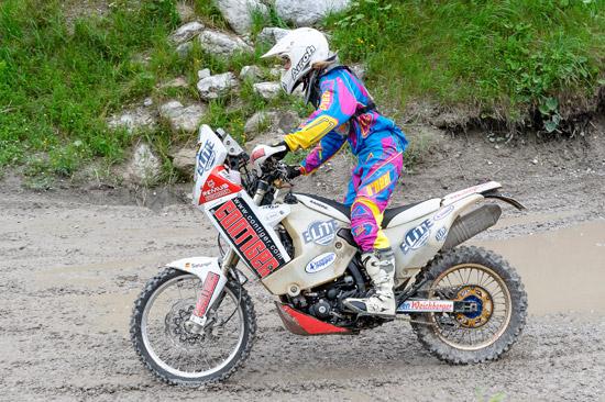 Julia Schrenk beim Finale zur Rally Queen.