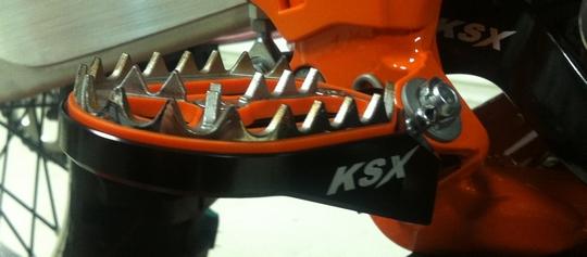 KSX Fussrasten