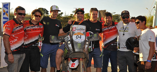 Sieger der  Rally dos Sertoes 2013 ist Paulo Goncalves