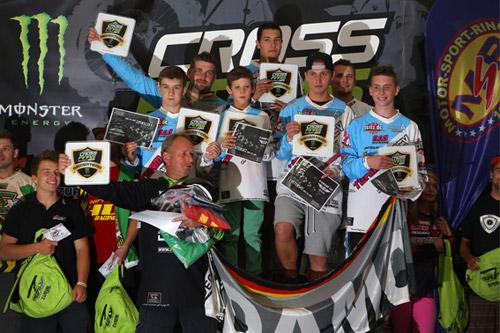 In der Teamwertung verteidigten die Fahrer des DAMCV aus dem Großraum Nordrhein-Westfalen ihren Titel als bundesweit schnellste MX-Serie.