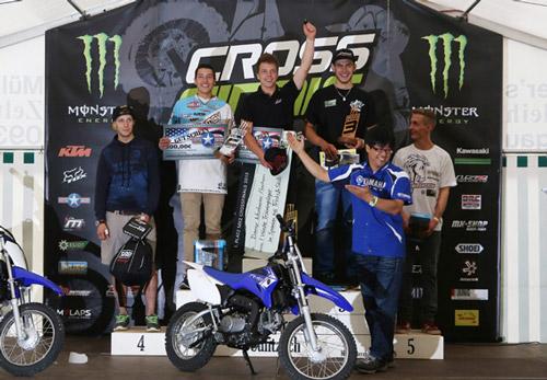 Danny Neubauer aus Sachsen gewinnt die MX2 Klasse.