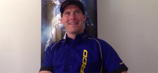 """David Knight """"Knighter"""" unterzeichnet Vertrag beim französischen Motorradhersteller SHERCO."""