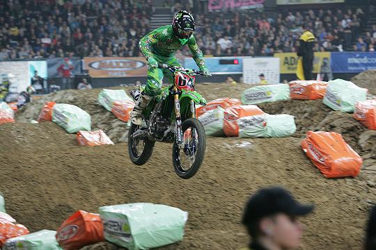 ADAC Supercross Stuttgart: Dominique Thury