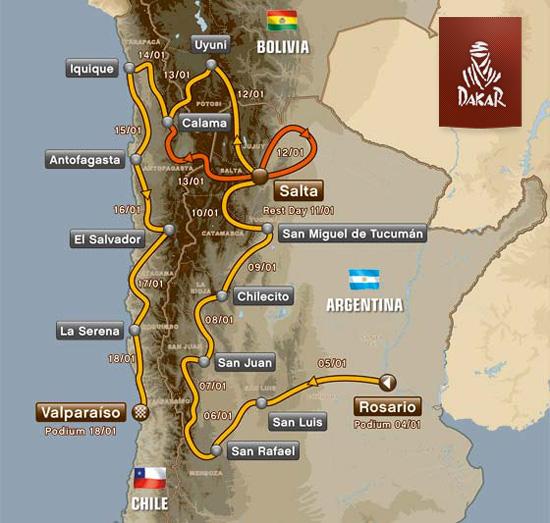 Die Dakar 2014 - LIVE verfolgen auf Enduro.de.