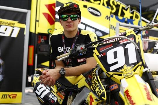 Jeremy Seewer Foto: www.suzuki-racing.com