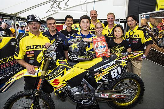 Brian Hsu übernimmt mit einem Doppelsieg die Führung in der EMX125