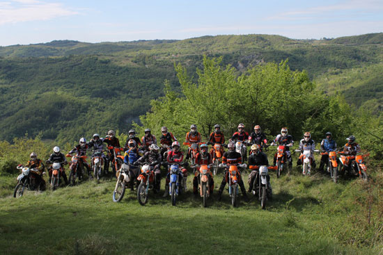 Enduro Croation bietet tolle Offroad-Touren.