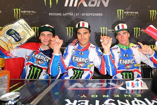 Gautier Paulin, Steven Frossard und Dylan Ferrandis gewinnen die MXoN 2014