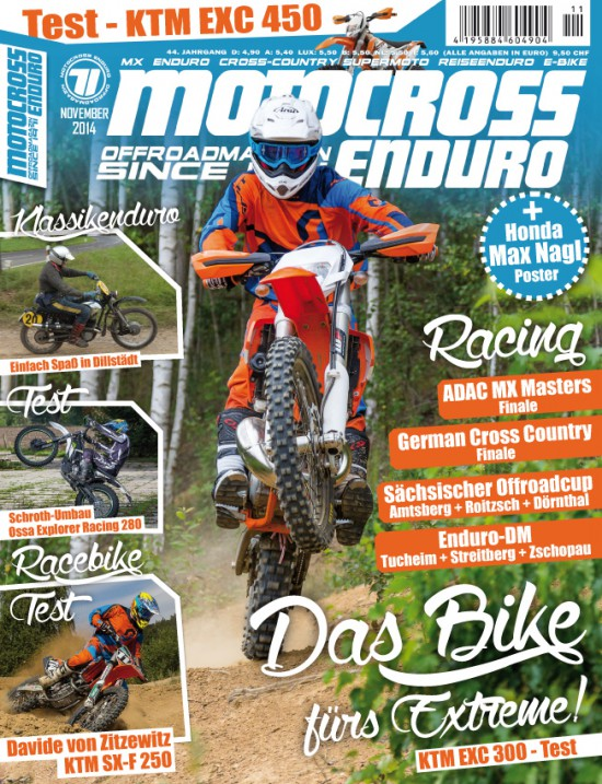 Das Cover von der MCE November-Ausgabe.