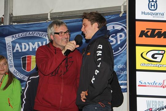 Uwe Buchholz mit Jonny Walker