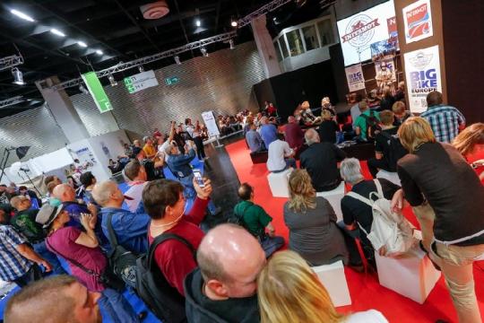 Veranstaltung auf der Zentralen Bühne der INTERMOT 2014.