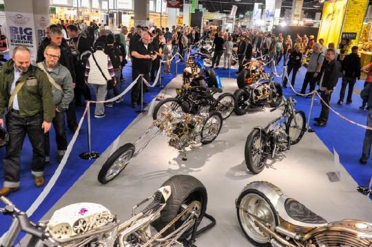 Die INTERMOT Köln ist Gastgeber der AMD World Championship of Custom Bike Building 2014.