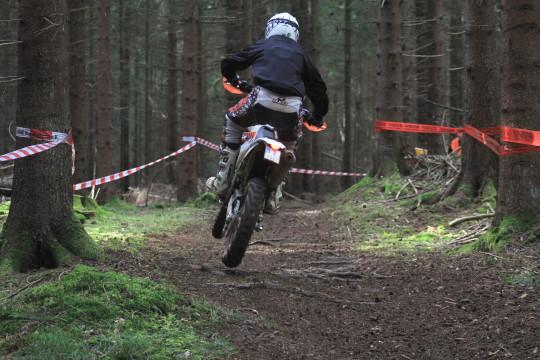 Streitberg ist bekannt für seine Waldprüfungen