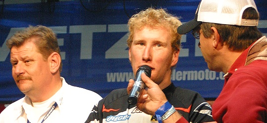 Arne Domeyer bei der Enduro-DM Zschopau 2005