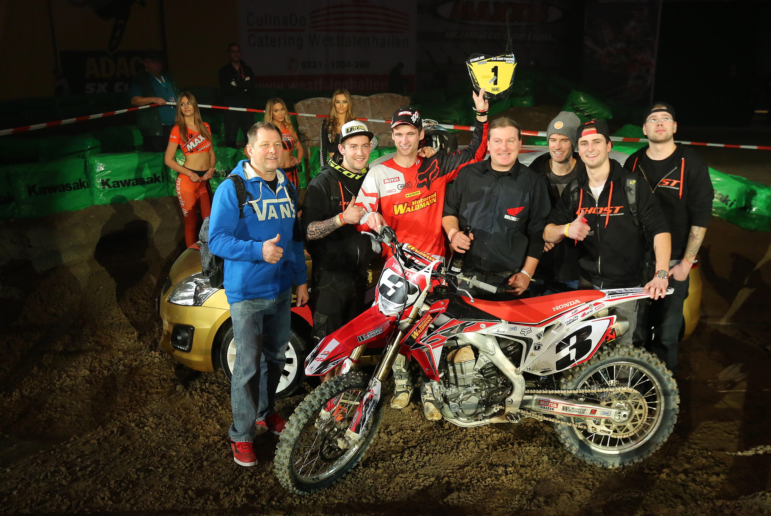 32. ADAC Supercross Dortmund 2015