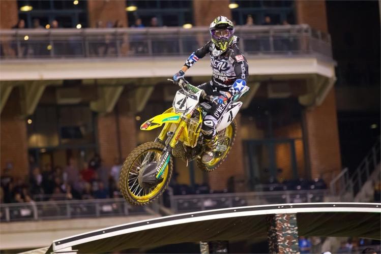 Blake Baggett Foto: www.suzuki-racing.com