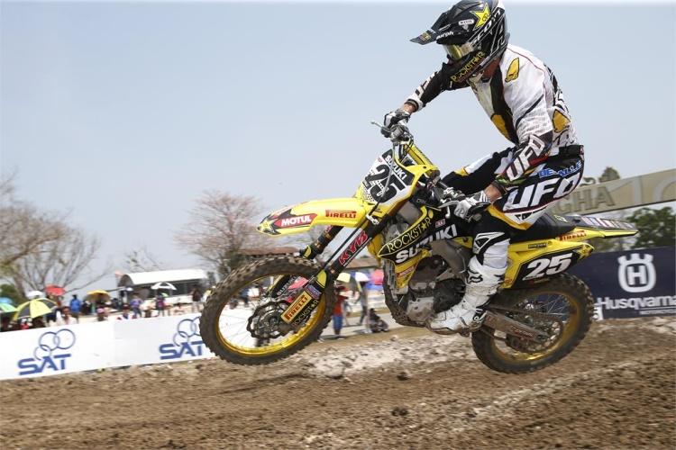 Clement Desalle Foto: www.suzuki-racing.com