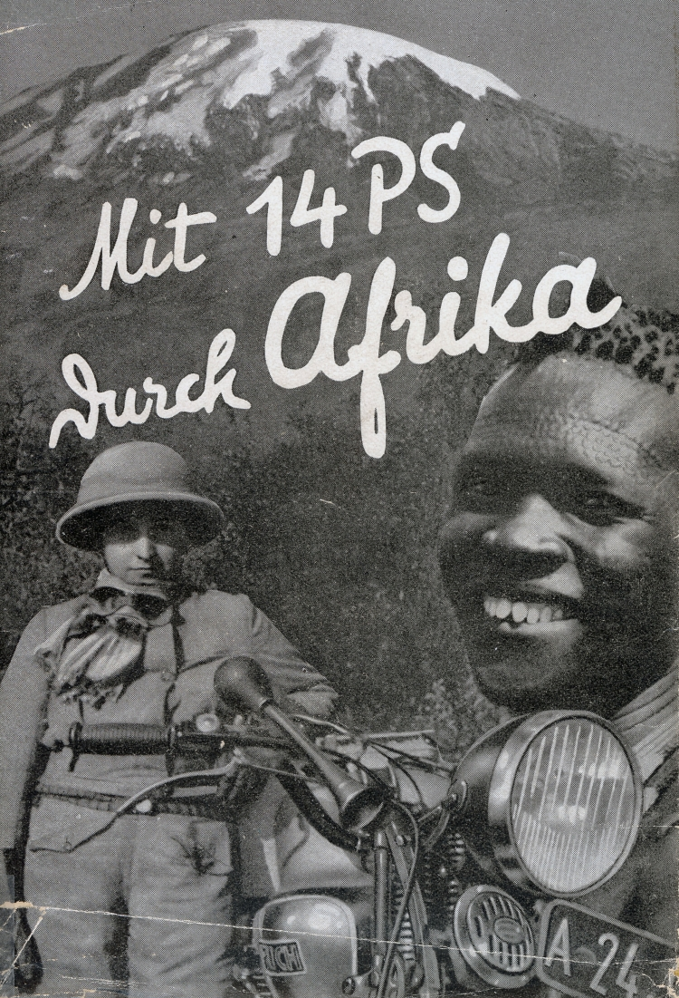 """""""Mit 14 PS durch Afrika"""": Seltene historische Aufnahmen aus den Anfängen des Motorradreisens sind am Freitag, 10. April, bei Touratech zu sehen."""