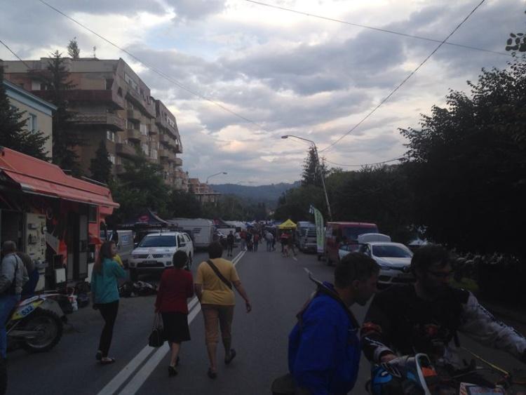 Paddack direkt in der City von Petrosani