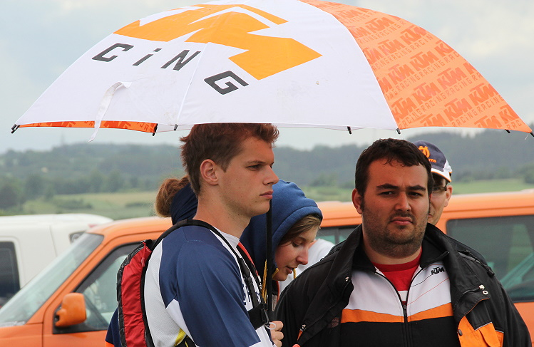 Philipp Reichinger mit Team