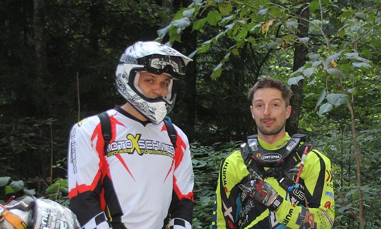 Markus Dengler ( links ) und Marcel Teucher ( rechts )