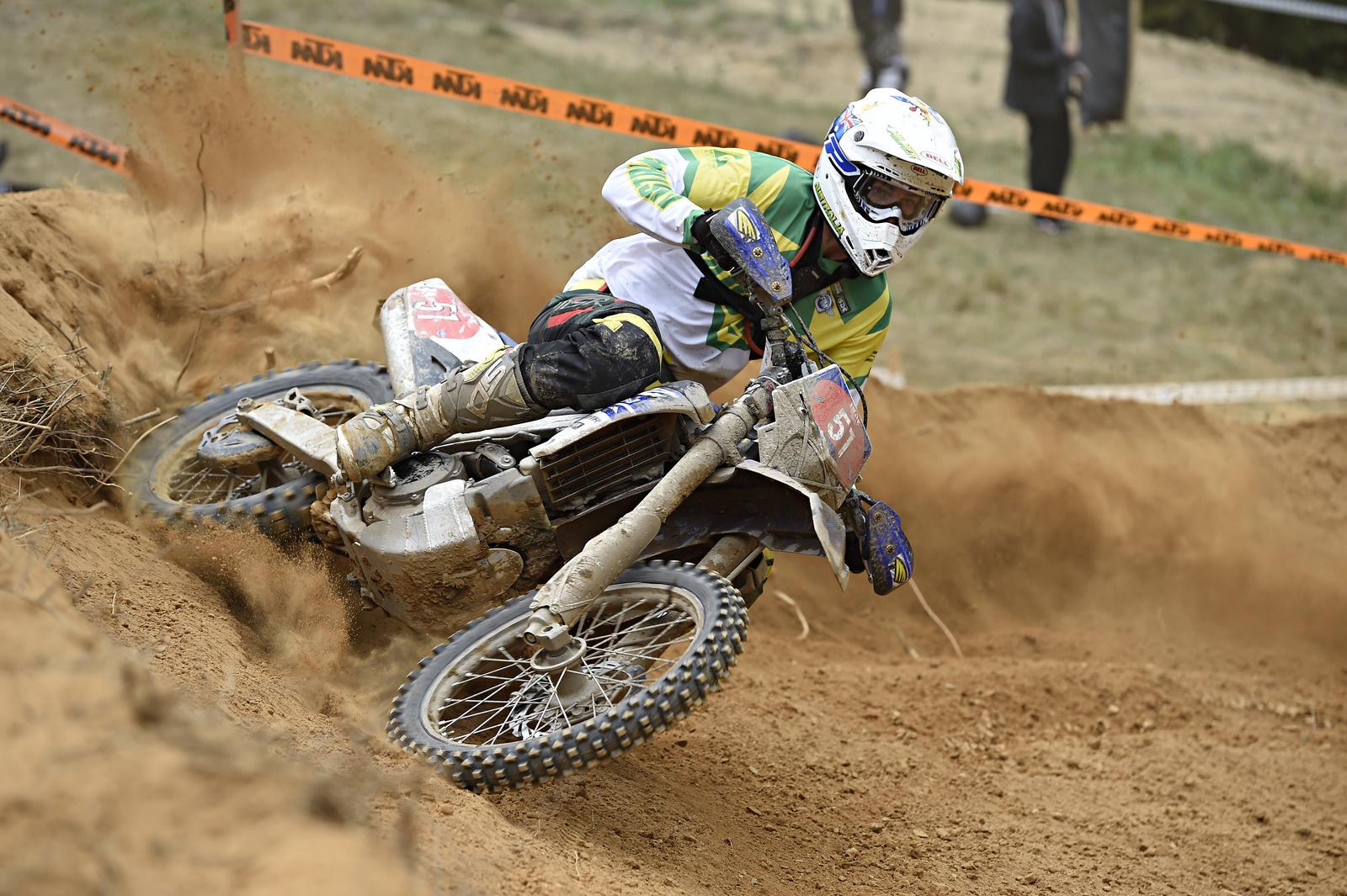 Für Daniel Milner (AUS, Yamaha) könnte es kaum besser laufen