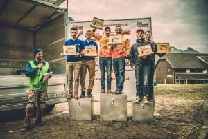 Podium Teamklasse Enduro Masters STEINER SCHÖPF