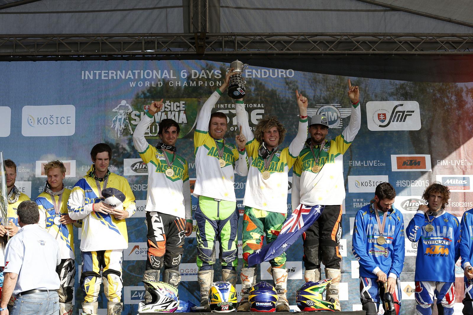Australia Junior Trophy Team