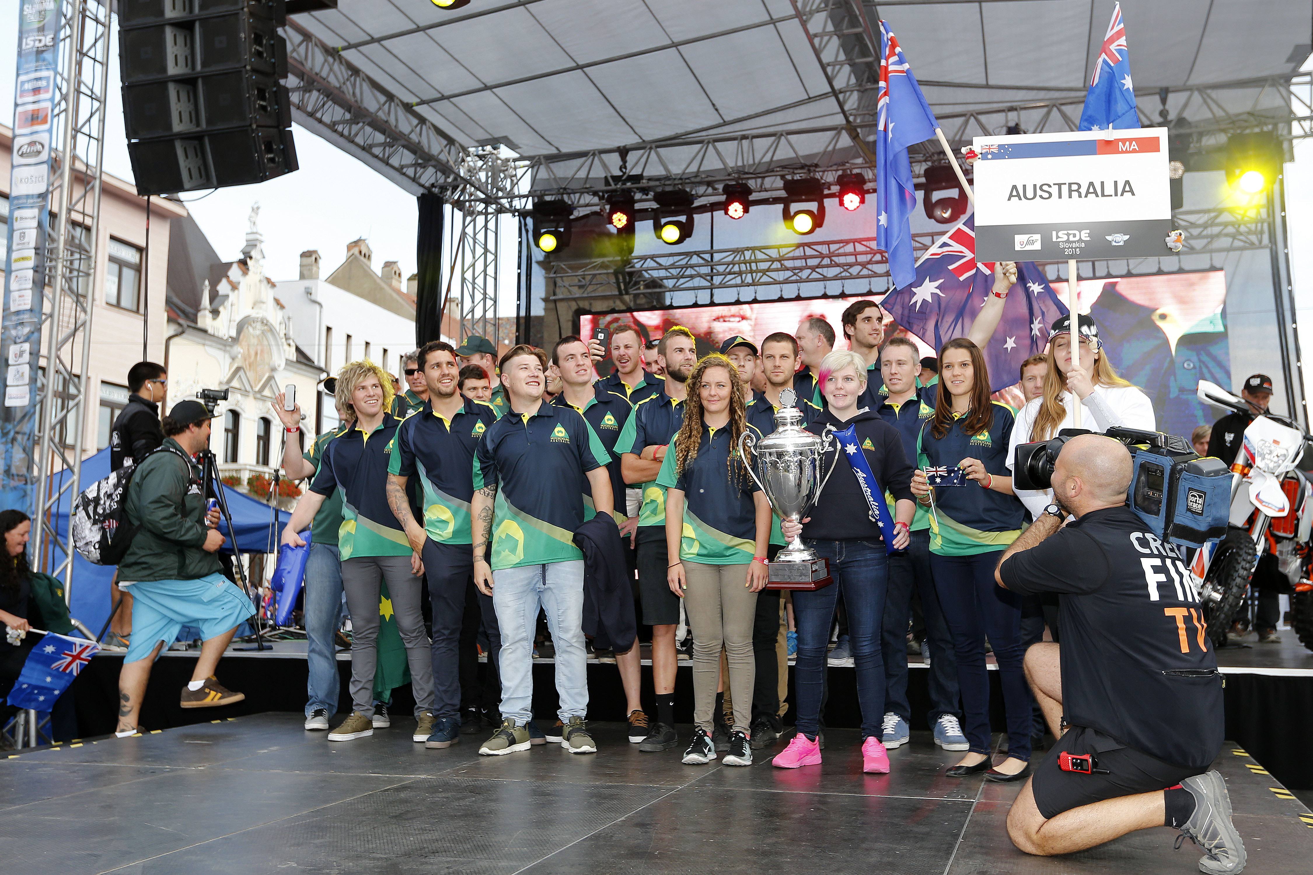 Australia - FIM ISDE 2015 Kosice