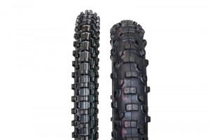 v.l. Bridgestone Gritty ED663 & ED668