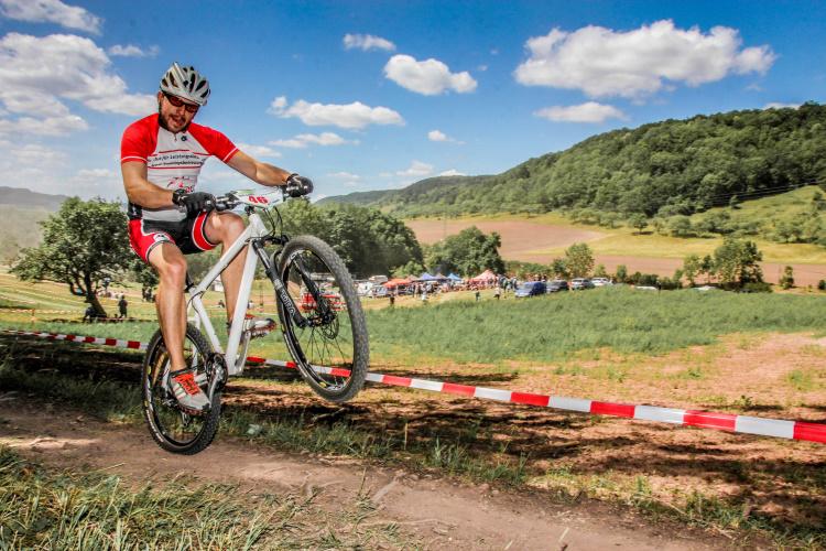 Sascha Kumant vom Motorrad aufs Mountainbike