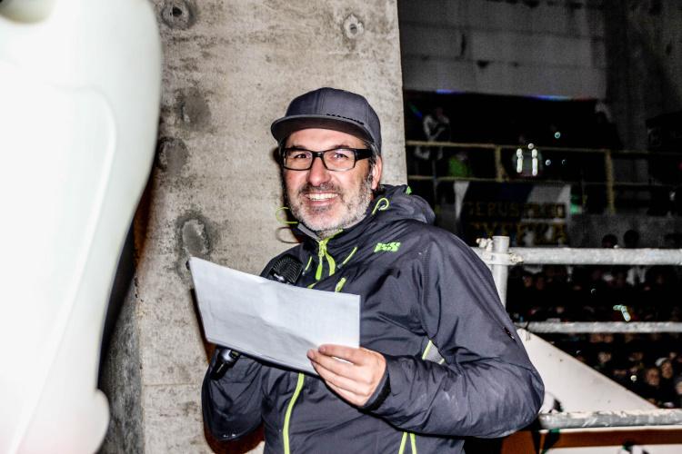 Uwe Buchholz moderierte den Prolog im MZ Neuwerk