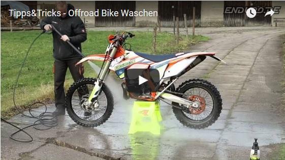 motorrad waschen