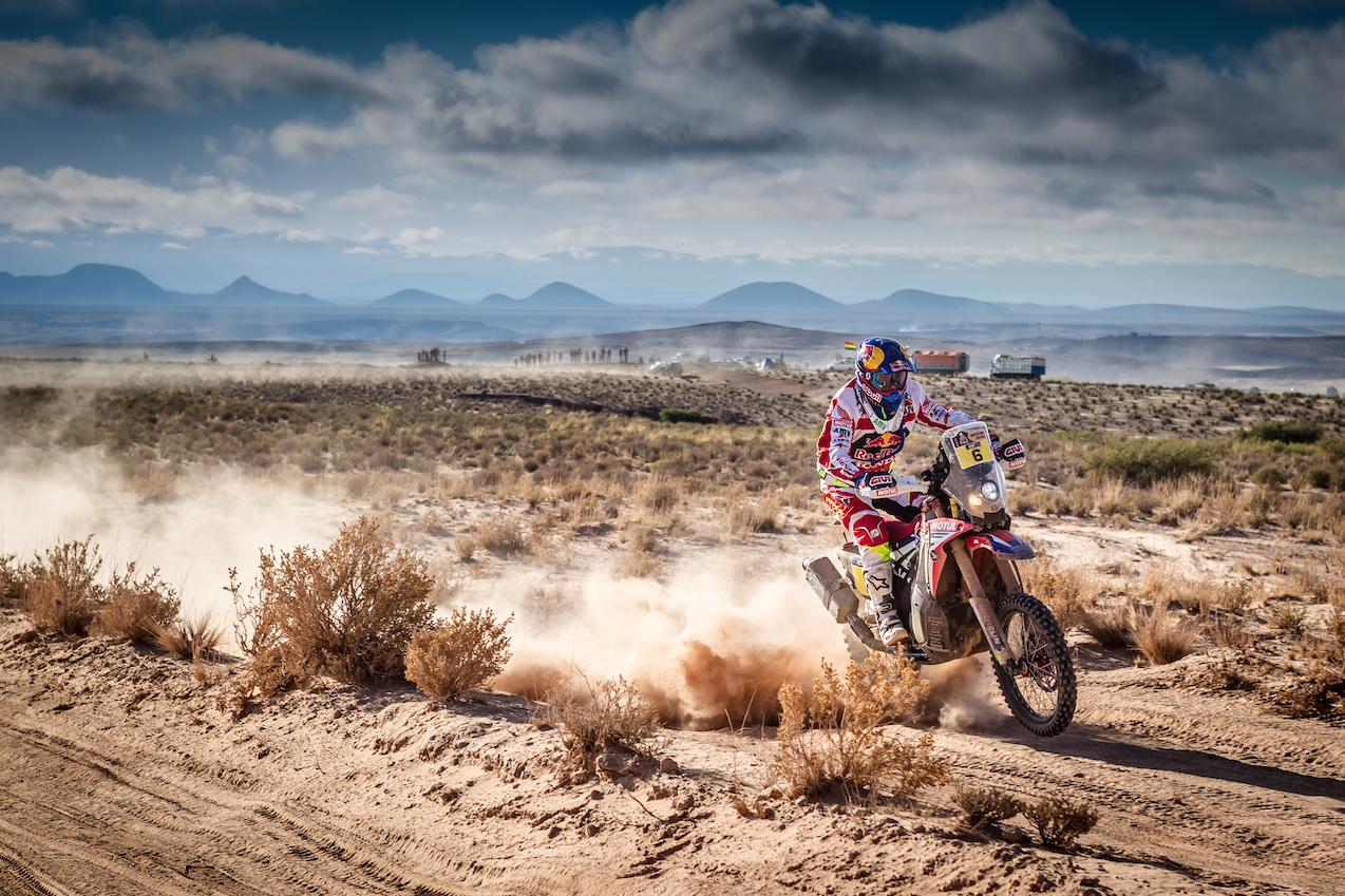 Joan Barreda war gestern schnellster auf Honda